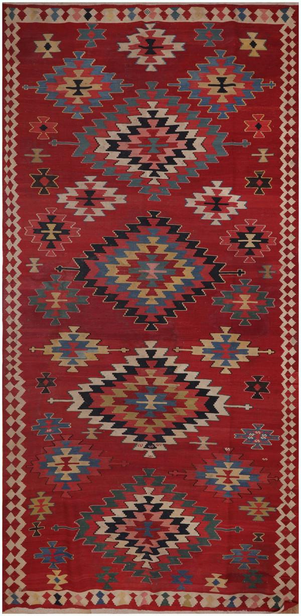 #51374  Antique Persian Kilim