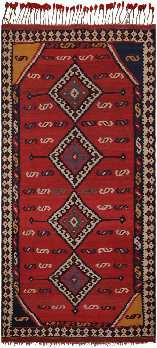 #51372 Antique Persian Kilim