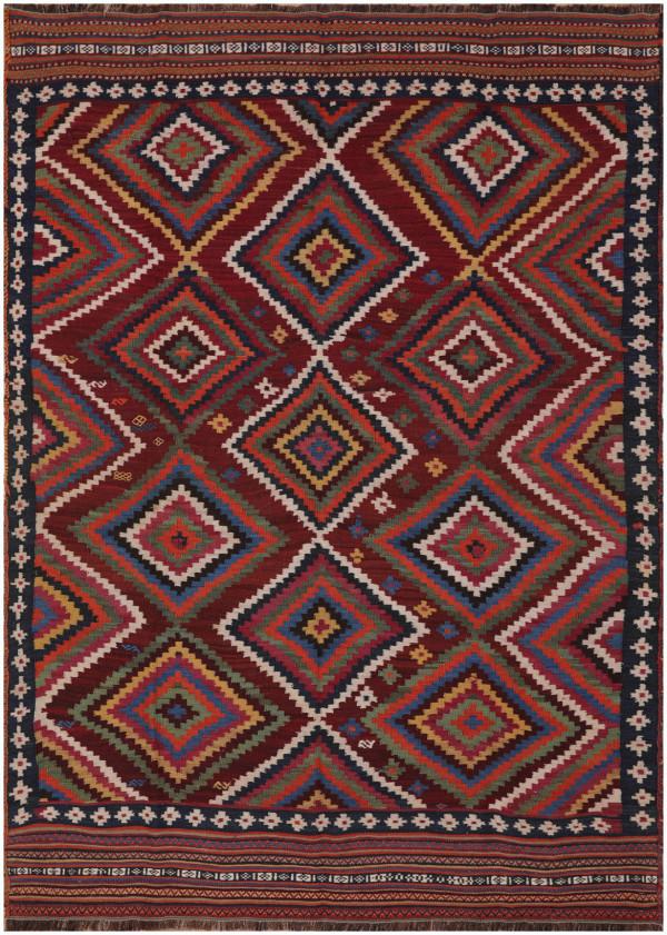 #51366 Antique Persian Kilim