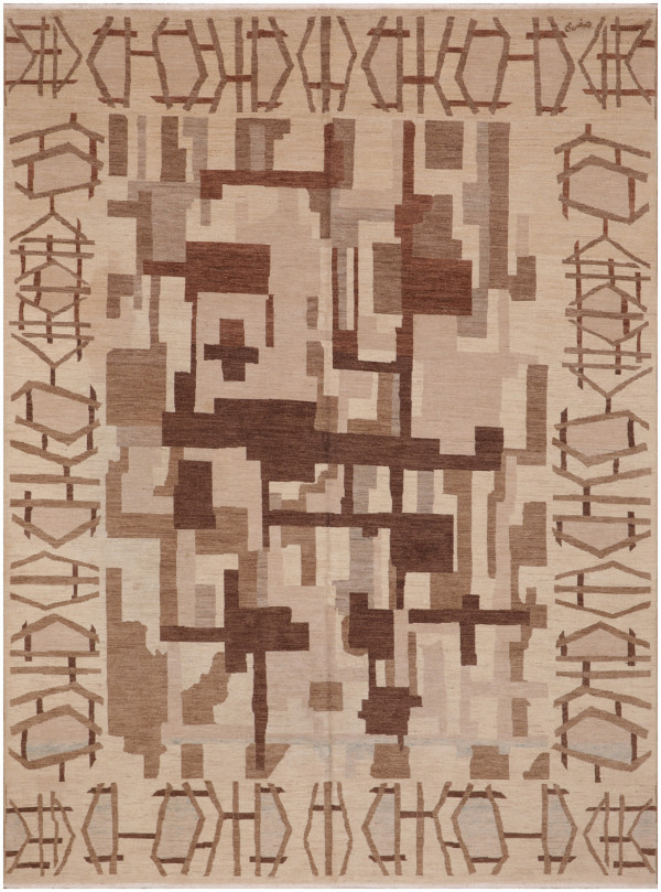 #51335 Modern Persian Rug