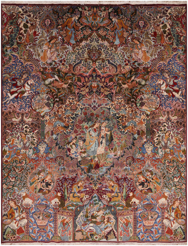51424 Kashmar Antique Persian Rug