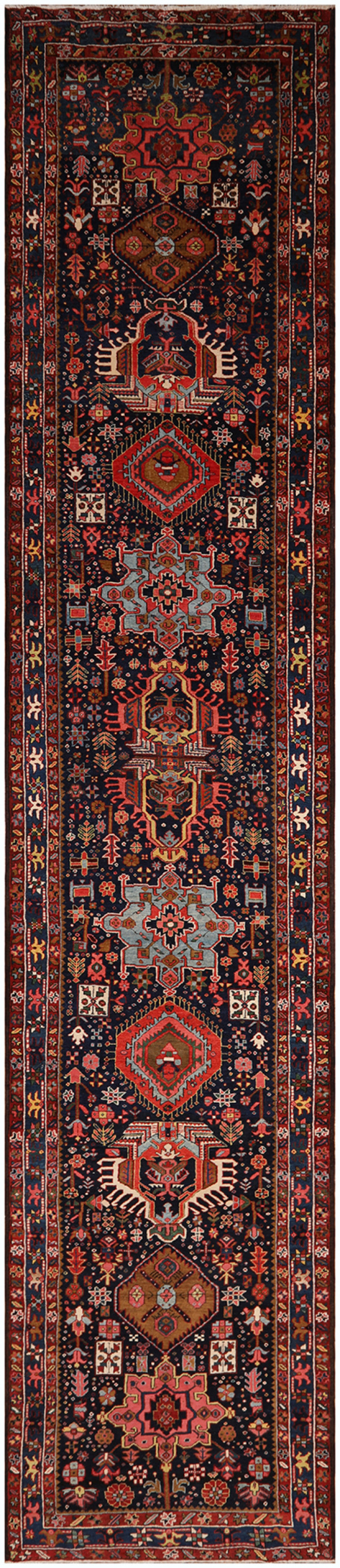 #51419 Heris Antique Persian Rug