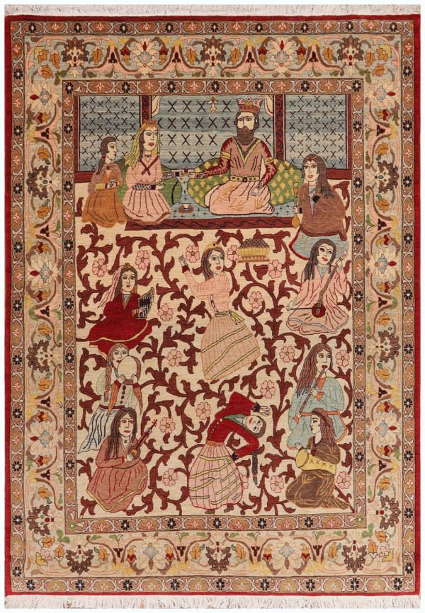 #51420 Tabriz Persian Rug