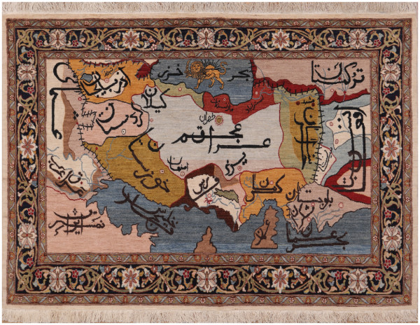 #51352 Tabriz Persian Rug