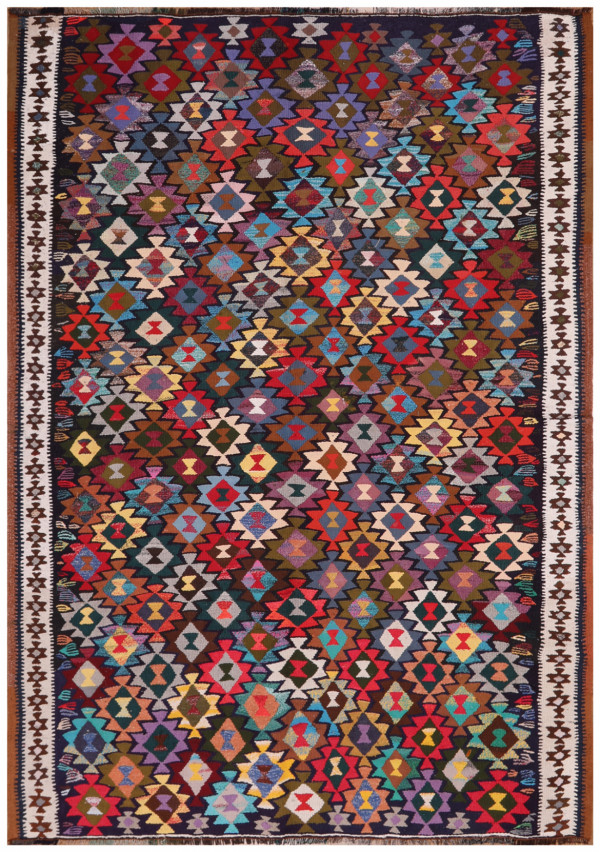 #51808 Vintage Persian Kilim