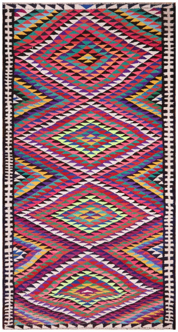 #51854 Vintage Persian Kilim