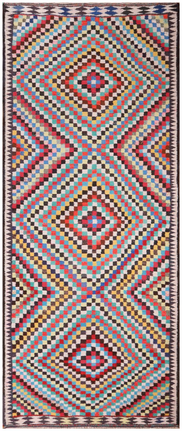 #51855 Vintage Persian Kilim
