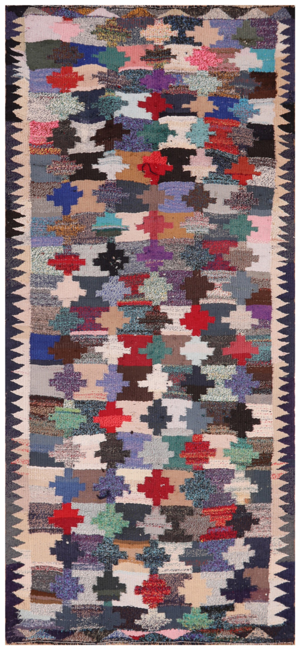 #51858 Vintage Persian Kilim