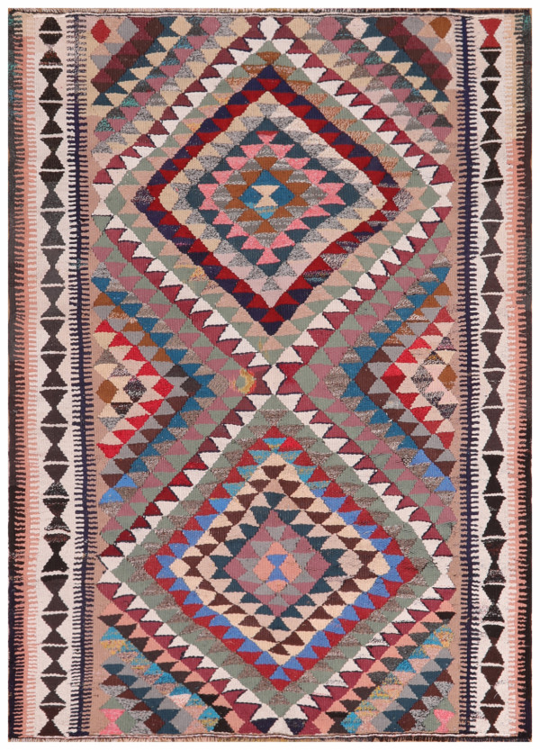 #51862 Vintage Persian Kilim
