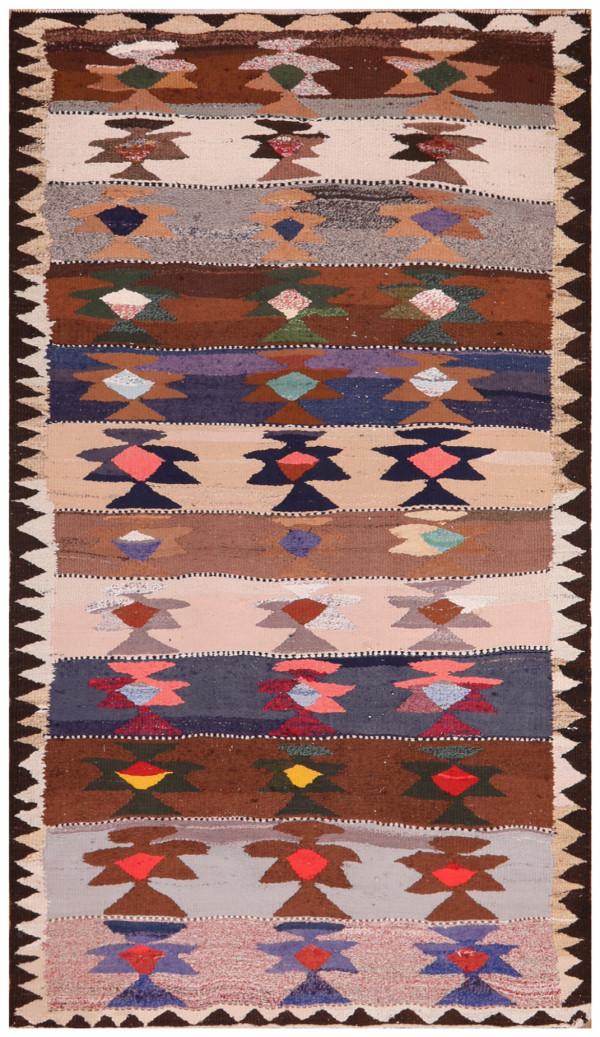 #51864 Vintage Persian Kilim
