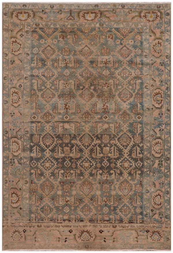 #51583 Hamedan Antique Persian Rug
