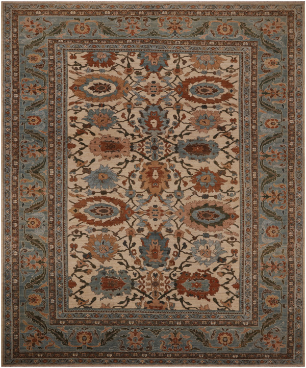 #52084 Sultanabad Persian Rug