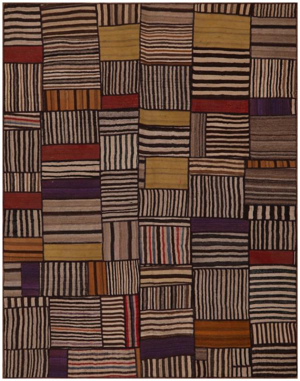 #52080 Patchwork Kilim Persian Rug