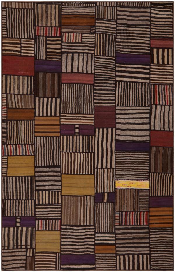 #52081 Patchwork Kilim Persian Rug