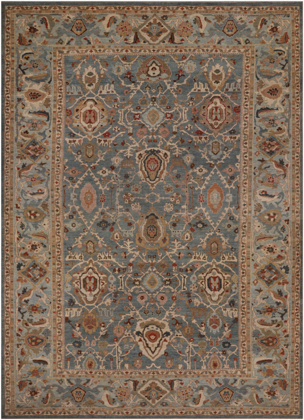 #42060 Sultanabad Persian Rug
