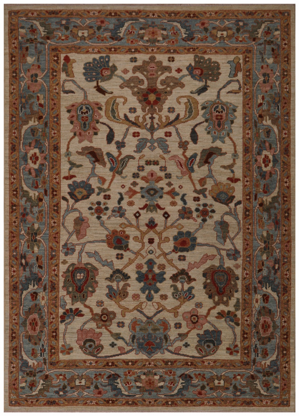 #44274 Sultanabad Persian Rug