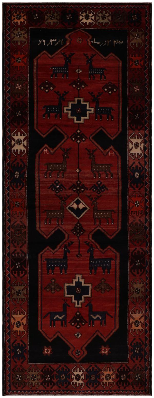 #52136 Hamedan Persian Rug