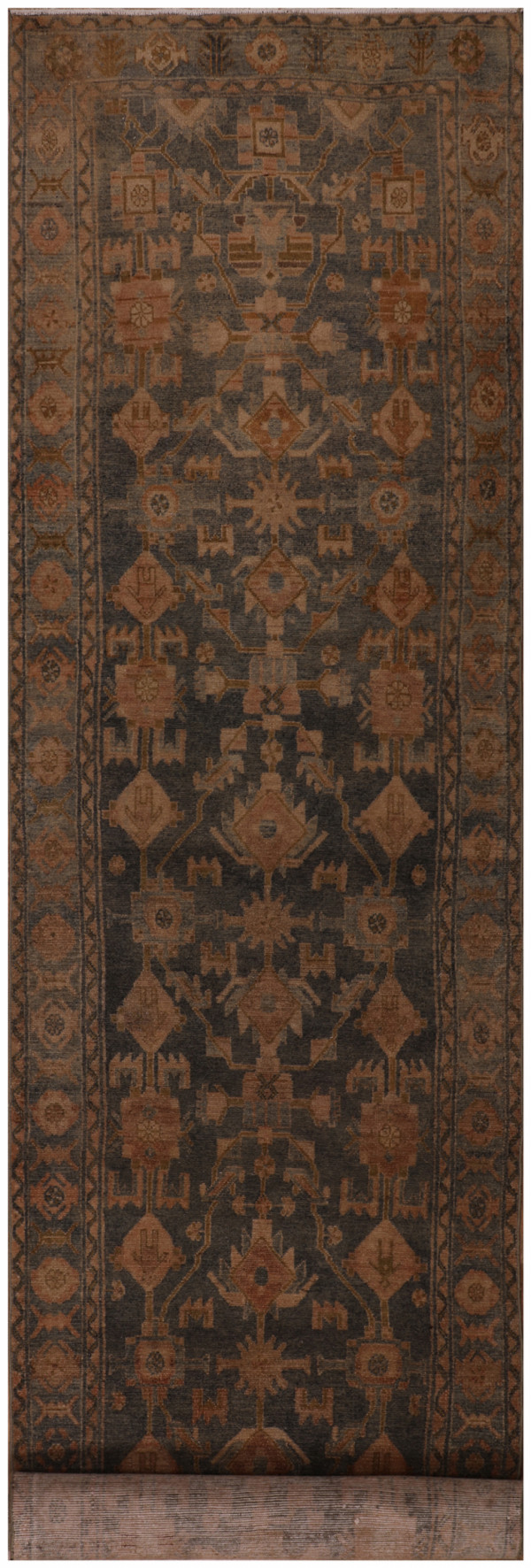 #51633 Hamedan Antique Persian Rug