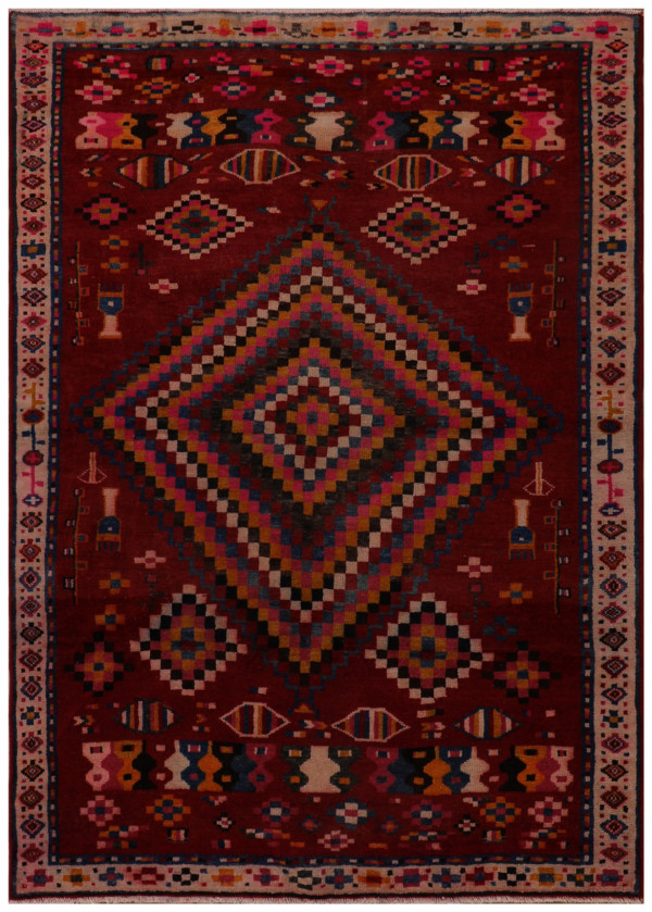 #52139 Cotton Persian Rug