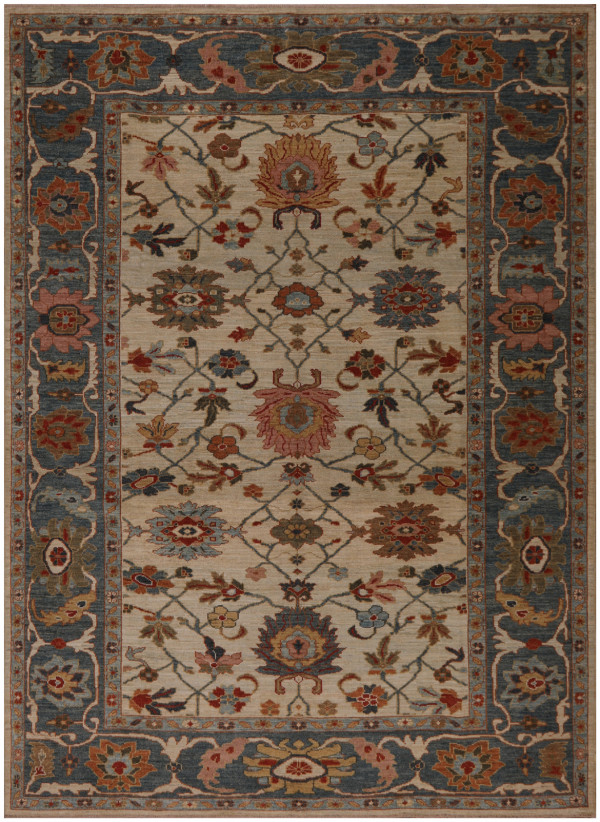 #44271 Sultanabad Persian Rug