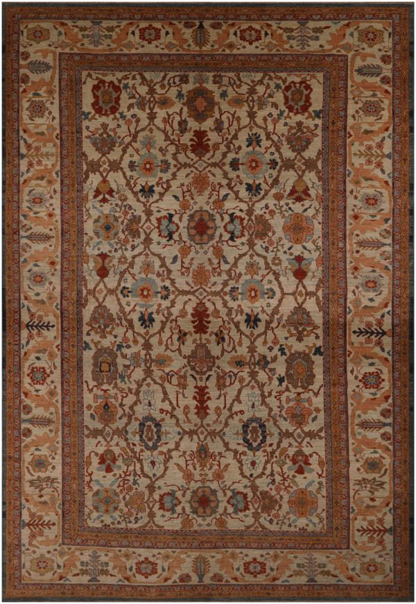 #42093 Sultanabad Persian Rug