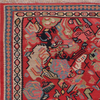 #51379  Antique Persian Kilim