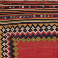 #51369 Antique Persian Kilim