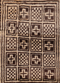 #51351 Gabbeh Antique Persian Rug