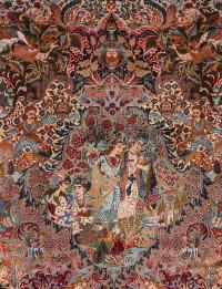 #51424 Kashmar Antique Persian Rug