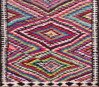 #51747 Vintage Kilim Persian Rug