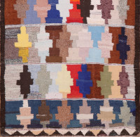 #51748 Vintage Kilim Persian Rug