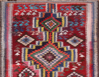 #51749 Vintage Kilim Persian Rug