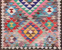 #51751 Vintage Kilim Persian Rug