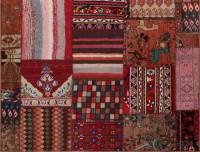 #51944 Patchwork Persian Rug