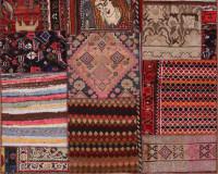 #51941 Patchwork Persian Rug