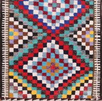#51753 Vintage Persian Kilim