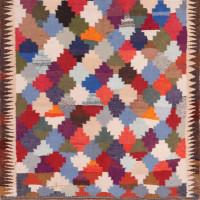 #51857 Vintage Persian Kilim