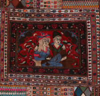 #52064 Vintage Persian Rug