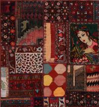 #52062 Vintage Persian Rug