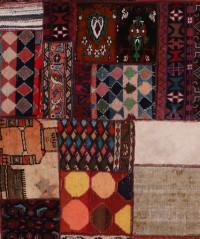 #52060 Patchwork Persian Rug
