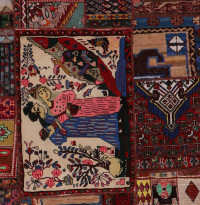 #52082 Patchwork Persian Rug