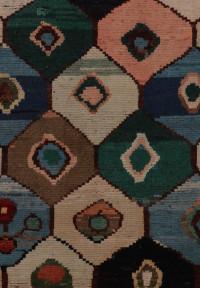 #52115 Gabbeh Persian Rug