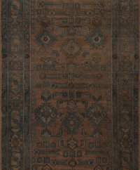 #51672 Hamedan Antique Persian Rug