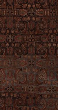 #51678 Hamedan Antique Persian Rug